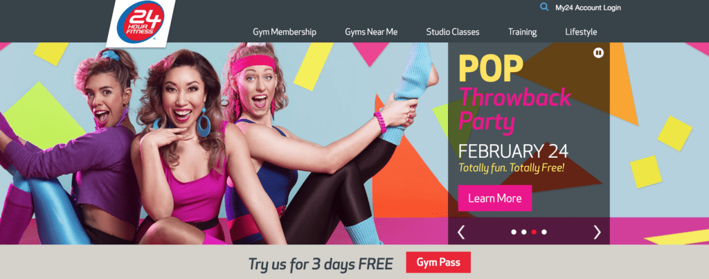 24 hour fitness from a marketing perspective