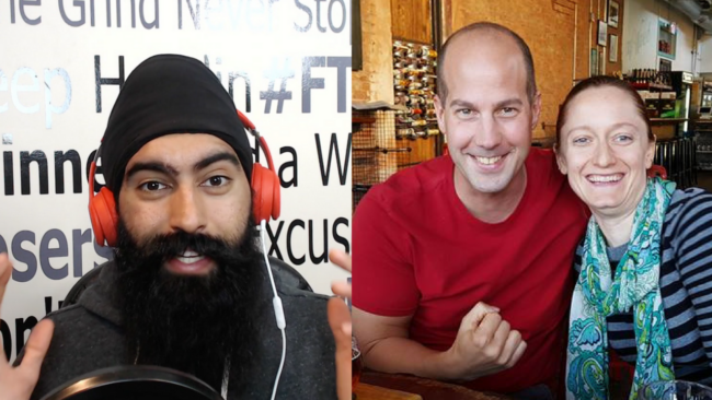 Steve & Courtney interview with Jaspreet Singh on how they retired in their 30s