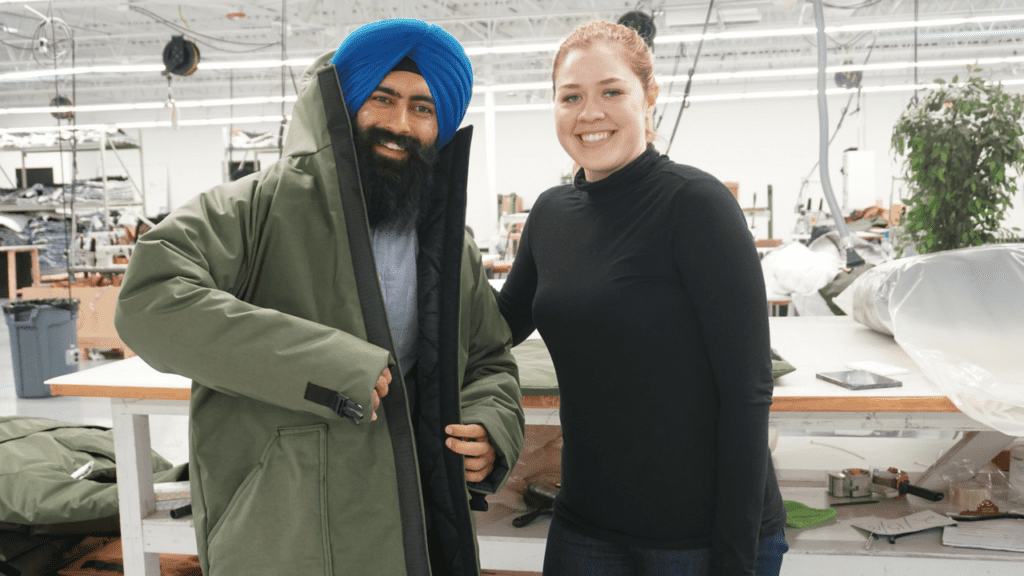 Veronika Scott - founder of The Empowerment Plan - Interviews with Jaspreet Singh from Minority Mindset