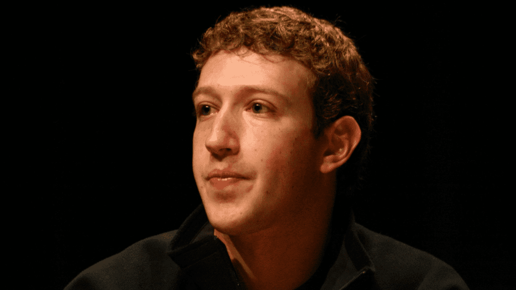Mark Zuckerburg thinking about the facebook data scandal
