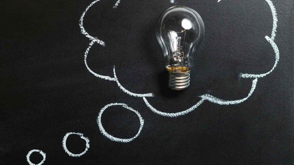 lightbulb moment from writing down your ideas