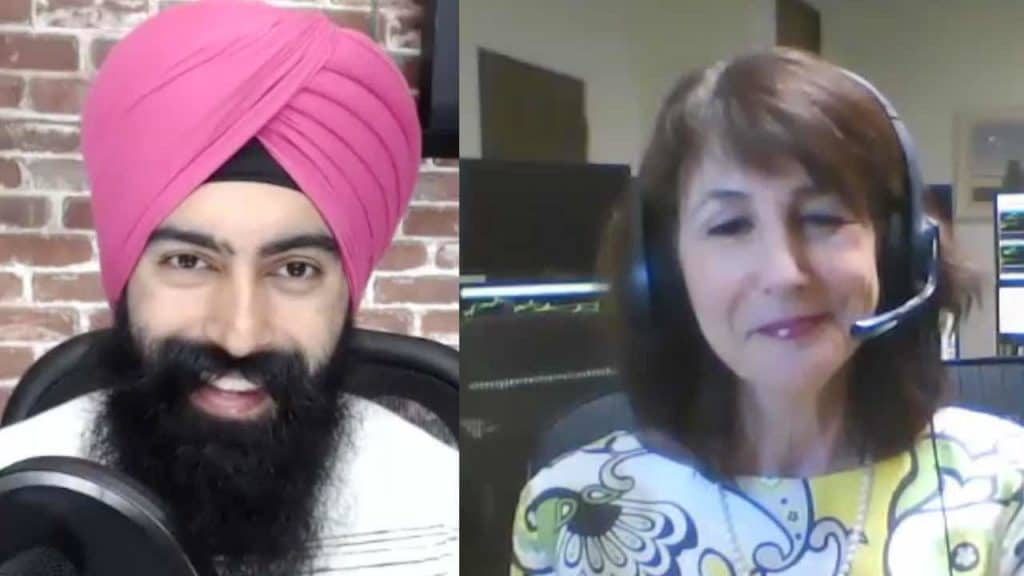 Mish author of Plant Your Money Tree interviews with Jaspreet