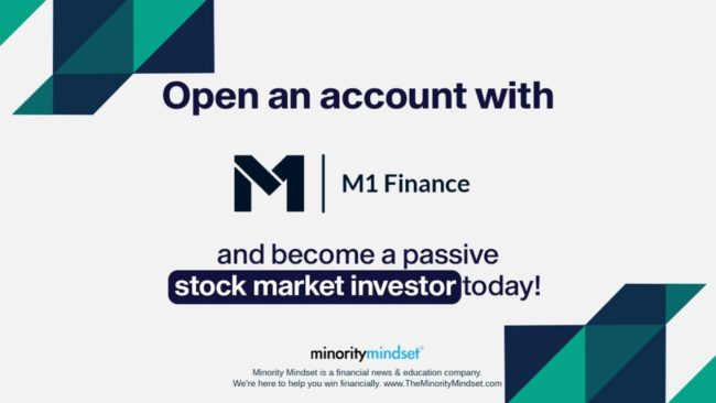 Open an account with M1 Finance